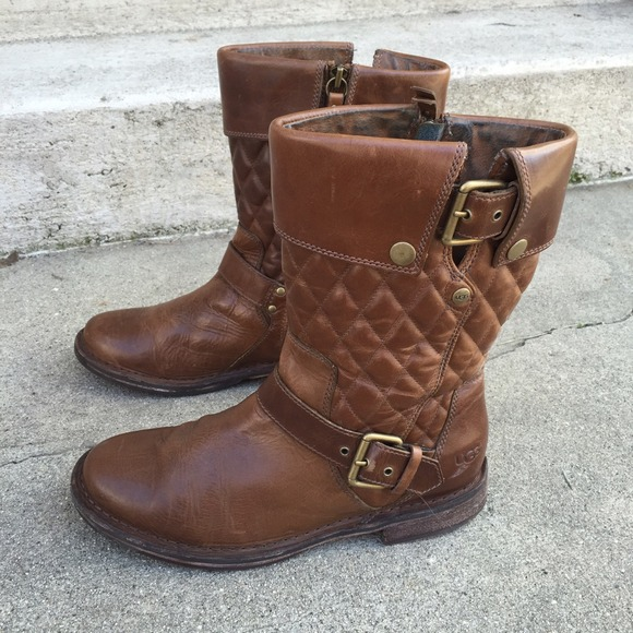 ugg boots quilted