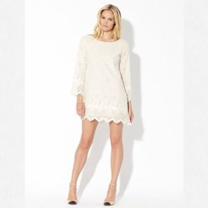 Corey Lynn Calter | Joline Eyelet White Dress