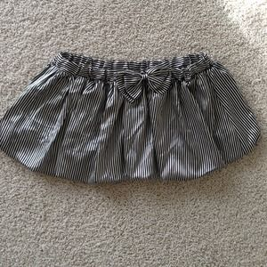 Poetry Dresses & Skirts - 🔴3 for $20🔴Black and white striped bubble skirt