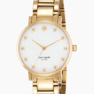 Kate Spade Gramercy Crystal Marker Watch