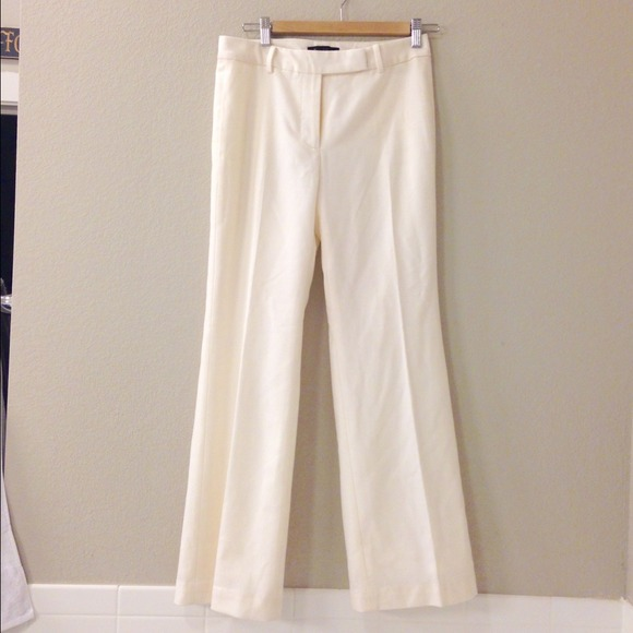 90 Off Talbots Pants Heritage Winter White Lined