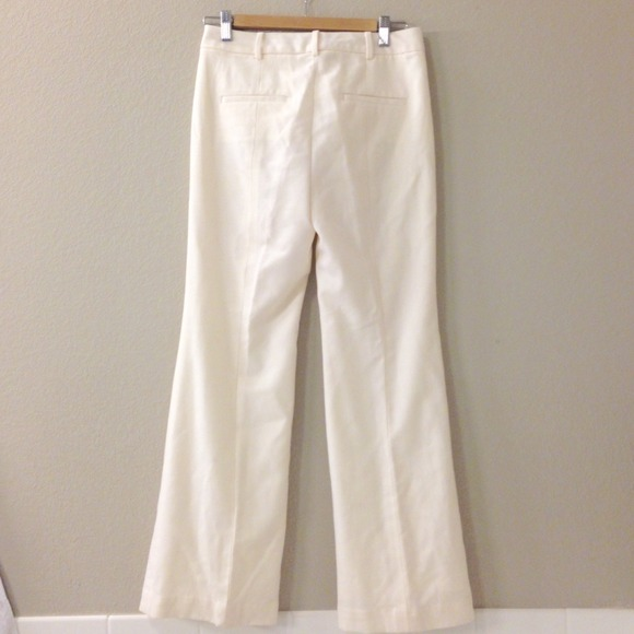 90% off Talbots Pants - Heritage winter white lined Talbots slacks ...
