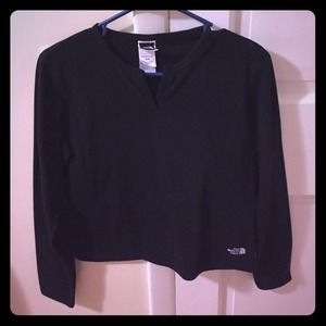 Excellent condition fleece north face pull over