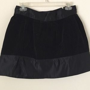 Erin fetherston for Target velvet black skirt