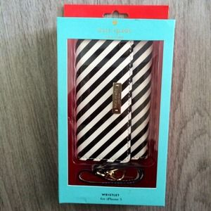 NEW LISTING - Kate Spade Striped Wristlet