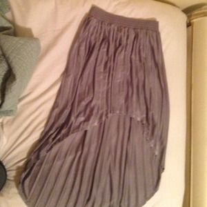 Forever 21 high low skirt