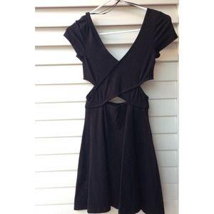 Brandy Melville Dresses - **SHORT SLEEVED VERSION** cut out dress NOT BRANDY