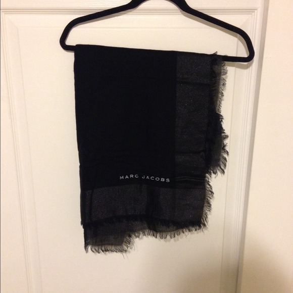 cad3f07e40f MARC JACOBS for NM + Target Black Scarf