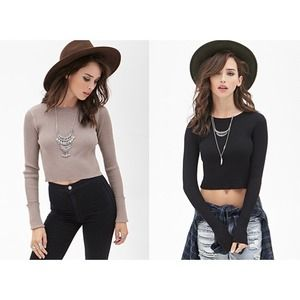 HOST PICK!!! Ivory Cropped Sweater Top