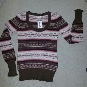 new Aphorism sweater medium