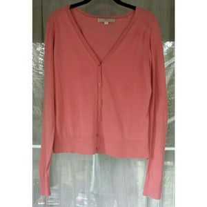 LOFT Tops - Rose V Neck Cardigan
