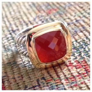 David Yurman Carnelian Ring