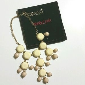 Baublebar Jewelry - Cream & light pink bubble necklace