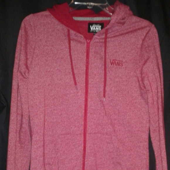 Vans Sweaters Girls Large Red Sweater Poshmark
