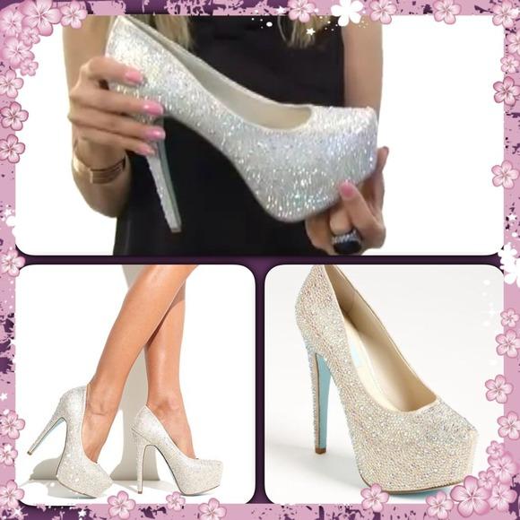 Betsey Johnson Shoes   Blue By Wish Pump   Poshmark