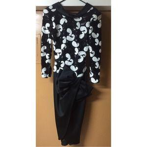 Vintage Sequin Dress * Holiday Sale*