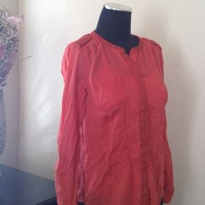 Sonoma Tops - Beautiful Burnt Orange Top