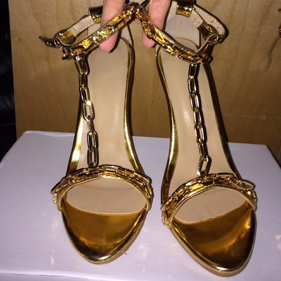 Tom Ford - TOM FORD Kim Kardashian Gold Chain Heels from R.&39s