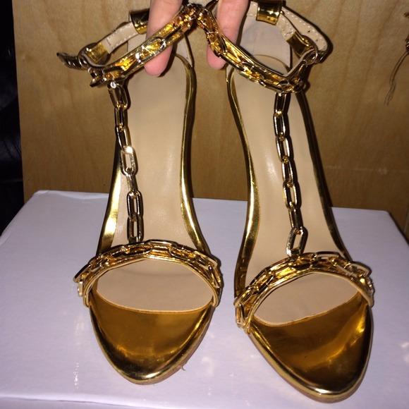 Tom Ford Tom Ford Kim Kardashian Gold Chain Heels From R