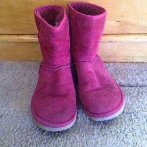 Dark Pink Uggs