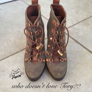 Tory Burch hiking boots