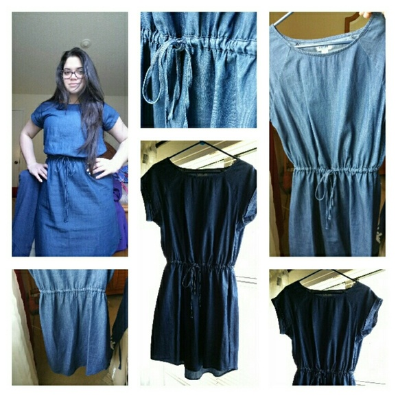 Blue dress old navy jean