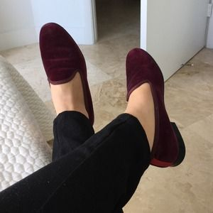 Del Toro Shoes - Del Toro Velvet Slippers
