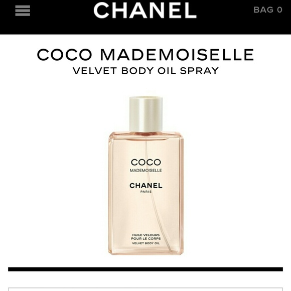 CHANEL Other - CHANEL Coco Mademoiselle body oil spray f34b55ea2a36