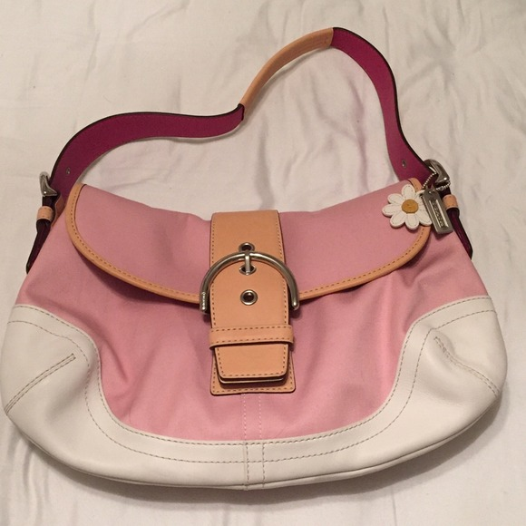 coach ��light pink coach purse�� from xanthes closet on