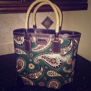 BRAND NEW Kate Spade Paisley Tote
