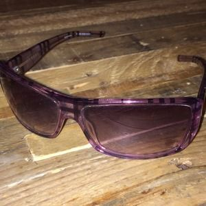 a45df8c7c53b Burberry Accessories - ✨Reduced✨ Purple Burberry sunglasses