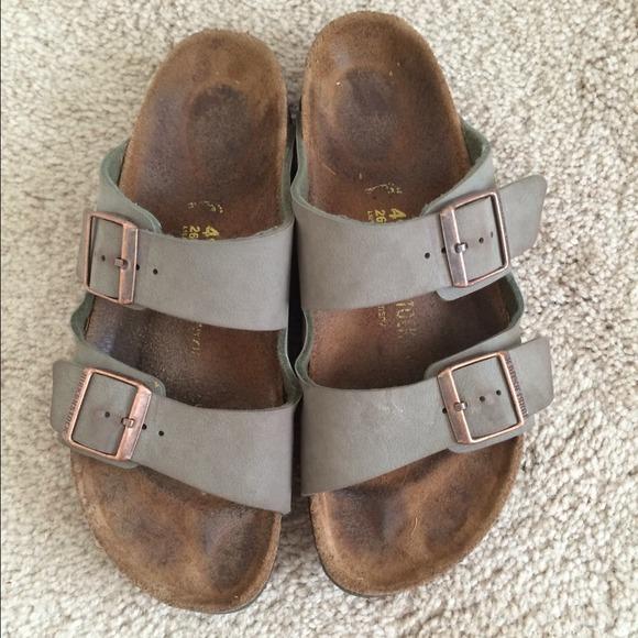 30affcb8102e Birkenstock Shoes - Olive Birkenstocks! High arch footbed!