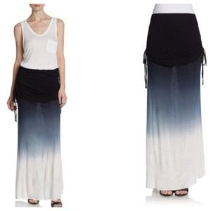 Young Fabulous & Broke Blue Ombre Maxi Skirt S