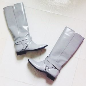 Marc by Marc Jacobs patent leather boots
