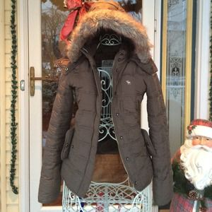 Abercrombie Other - ⭐️SALE⭐️Brown Abercrombie kids Winter Coat