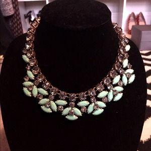 J. Crew Jewelry - JCREW mint necklace.