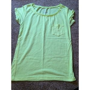 Neon Green American Eagle top