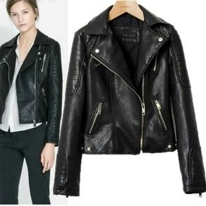 Zara Jackets & Blazers - Zara moto jacket. Size medium.