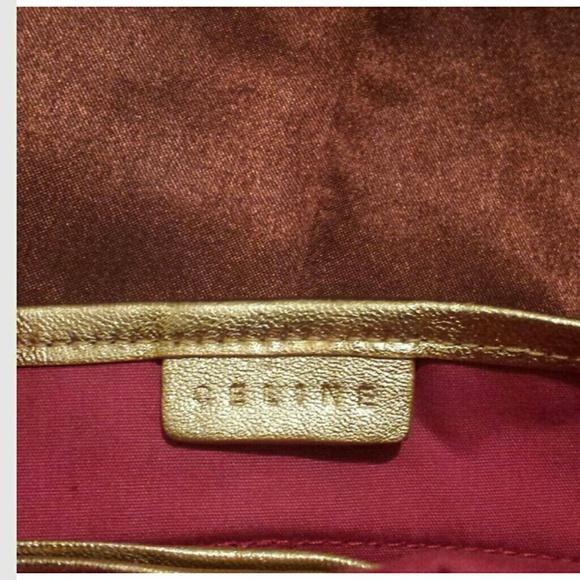 celine luggage phantom bag price - 86% off Celine Handbags - AUTHENTIC Vintage CELINE denim/leather ...