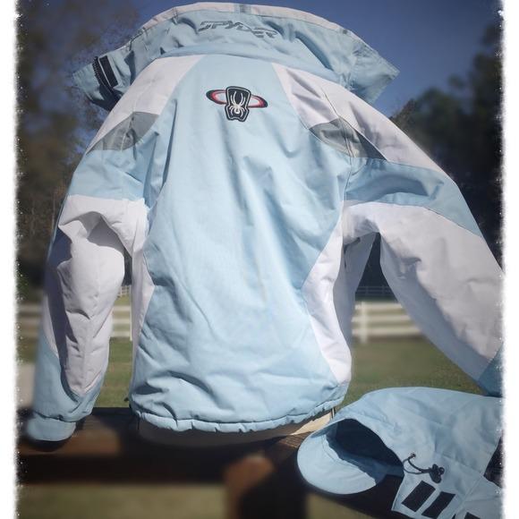 73% off Spyder Outerwear - 👍🏂SPYDER SKI Jacket NEW!! Ice Blue ...