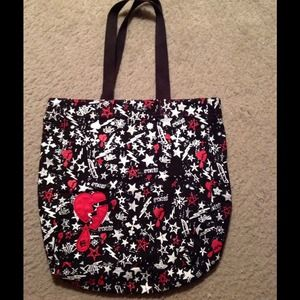 Etnies Handbags - Black red & white Etnies purse
