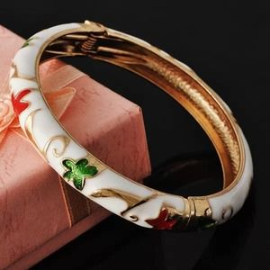 Jewelry - Gold filled Enamel Bracelet