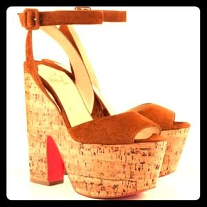 Shoes - CL Red Bottom Wedges