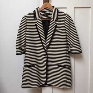 ELIZABETH AND JAMES Preppy James Striped Blazer 6