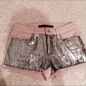 Joes Jeans Sequin Shorts