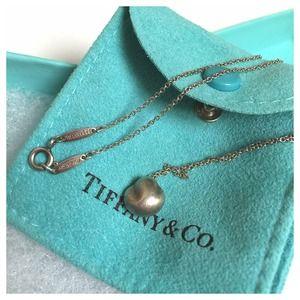 Tiffany Peretti 925 Sterling Silver Shell Necklace