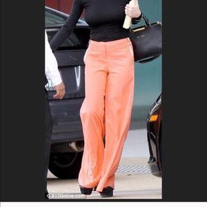 Pants - Orange bell dressy pants