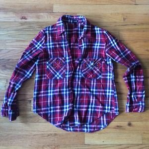 PacSun Tops - Plaid Flannel Button Down