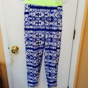 Aztec soft pants from LF!