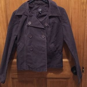 Purple gap spring peacoat